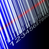Barcode Background Stock Image
