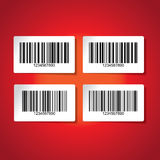 Barcode background Stock Images