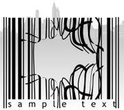 barcode bruten stad Royaltyfria Bilder