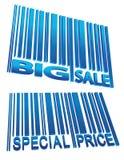 barcode ceny sprzedaży set Obrazy Stock
