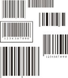 Barcode Collection. On white background Royalty Free Stock Images