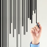 Barcode designer Royalty Free Stock Photo