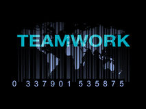 Barcode Education World Teamwork Concept stock illustration