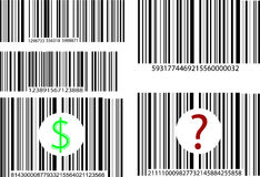 Barcode five Stock Photography