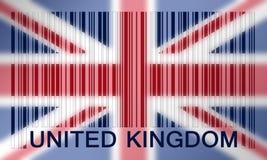 Barcode flag Stock Image
