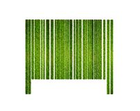 Barcode grass. Royalty Free Stock Images