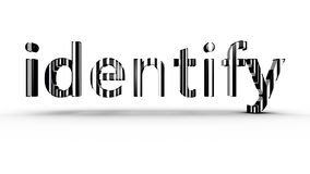 Barcode Identification Stock Photography