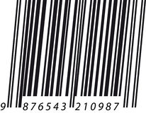 Barcode italic Royalty Free Stock Photography