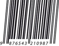 Barcode italic Royalty Free Stock Photography