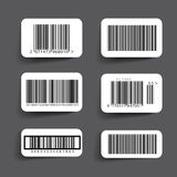 Barcode label set vector Royalty Free Stock Photos