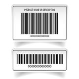 Barcode label sticker set. Vector Stock Photo