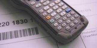 Barcode-Leser lizenzfreie stockfotografie