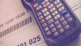 Barcode-Leser lizenzfreie stockfotos
