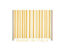 Barcode made with italian spaghetti. Barcode made ​​with italian spaghetti on the white background Royalty Free Stock Photos