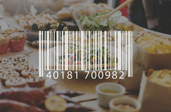 Barcode Mark Sign Market Item Concept Royalty Free Stock Photo