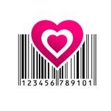 Barcode också vektor för coreldrawillustration Arkivbild