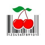 Barcode också vektor för coreldrawillustration Royaltyfri Foto