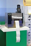 Barcode printer Royalty Free Stock Image