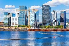 Barcode projekt w Oslo Zdjęcie Stock