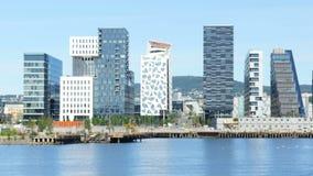 barcode projekta mieszkanie w wieżowcu Oslo Norway zbiory
