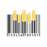 Barcode również zwrócić corel ilustracji wektora royalty ilustracja