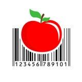 Barcode również zwrócić corel ilustracji wektora ilustracja wektor