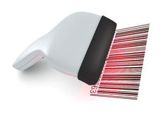 Barcode reader Stock Photography