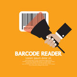 Barcode Reader. Graphic Vector Illustration Royalty Free Stock Photos