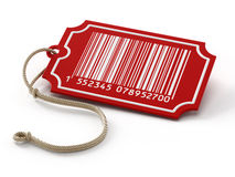 Barcode on sale tag Stock Images