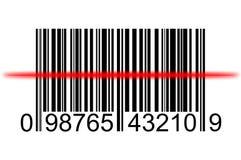 Barcode sanning Royalty Free Stock Image