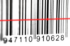 Barcode scan Stock Image