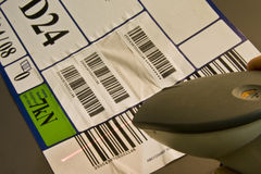 Barcode-Scanner Lizenzfreies Stockfoto