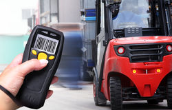 Barcode-Scanner stockfotos