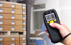 Barcode Scanner royalty free stock image