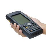 Barcode scanner. Operated on PocketPC Royalty Free Stock Images