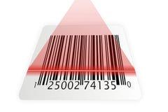 Barcode scanner illustration Stock Image