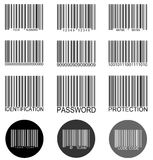 Barcode Set Royalty Free Stock Image