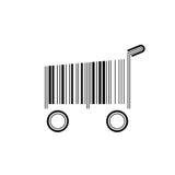 Barcode Shopping Cart Stock Photos
