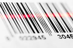 barcode skanerowanie Fotografia Royalty Free