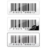 Barcode sticker Stock Image