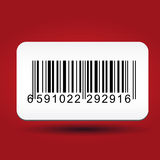 Barcode sticker Royalty Free Stock Image