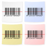Barcode sticker Royalty Free Stock Images