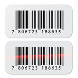Barcode stickers Royalty Free Stock Image