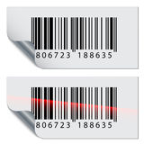Barcode stickers Royalty Free Stock Photo