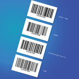 Barcode stickers Royalty Free Stock Photos