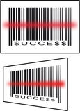 Barcode success Stock Image
