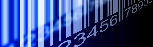 Barcode sztandar Zdjęcia Royalty Free