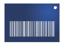 Barcode Tag. Colored barcode tag illustration can be used for any illustration u fancy Royalty Free Stock Photography