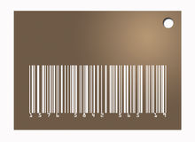 Barcode Tag Royalty Free Stock Photo