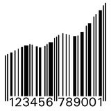 Barcode Up Royalty Free Stock Photo